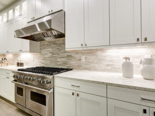Backsplash, Cabinetry Hardware and Sinks